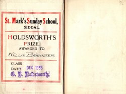 HOLDSWORTH'S PRIZE, 1935