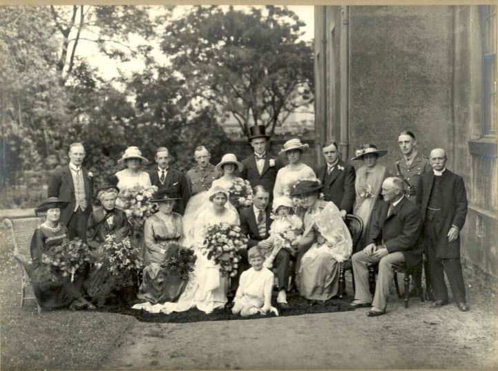 Wedding of George Bertram Holdsworth and Mabel Highley, Harrogate June 1919