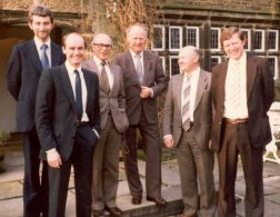 Happich visit to John Holdsworth 1982