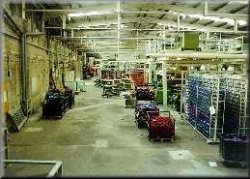 Inside Weaving Shed, Shaw Lodge Mills, Halifax, 1999