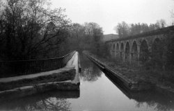 On Narrowboat with Allotts in Wales, 1974