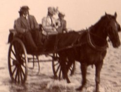 On the way back from Holy Island ca. 1898