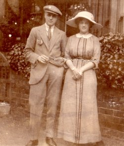 S Davenport & G Holdsworth, Filey 1912