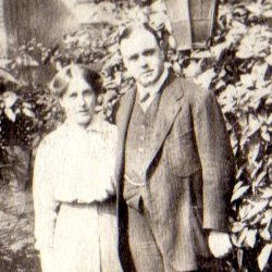 Kathleen and Charles Selborne Walker, 1915