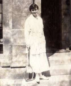 'Effie', at Netherside Hall, June 10, 1916
