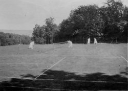 Tennis at Netherside Hall 1924
