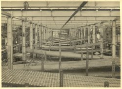 Creels at Shaw Lodge Mills, Halifax, 1933