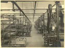 Weaving Shed at Shaw Lodge Mills, Halifax, 1933
