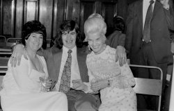 Betty, Brian and Margaret Taylor