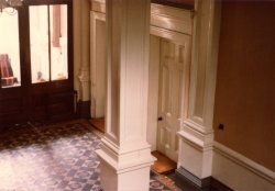 The Main Office Hallway, John Holdsworth & Co Ltd, Halifax 1979