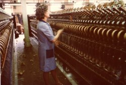 Worsted Cap Spinning, John Holdsworth & Co Ltd, Halifax 1979
