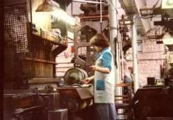 Wire-Loom Weaving, 'A-Shed', John Holdsworth & Co Ltd, Halifax 1979