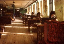 Mending Department, John Holdsworth & Co Ltd, Halifax 1979