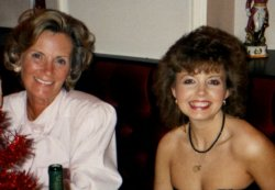 Mrs Dina Holdsworth and Tracey Binns, 1988