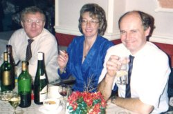 Derrick & Val Rooke with Michael Holdsworth, 1989
