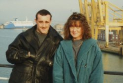 Taking the Ferry, Hollyhead - Dun Loughaire, 11 Feb 1993
