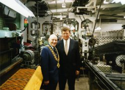 Mayor of Calderdale visit to John Holdsworth & Co Ltd, 6 May 1994