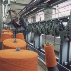 Winding Wool Yarn, John Holdsworth & Co Ltd, 1999