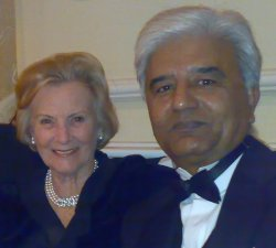 June Wroot & Ghulam Murtaza in Winding Department, Feb 2006