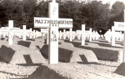 John Holdsworth's second grave in Germany