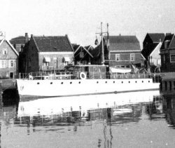 Gwynreta at Marken, Holland