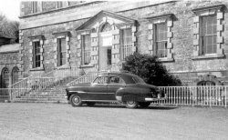The first Chevrolet at Bellinter House, 1954