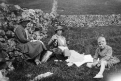 Pic-nic at Upper Wharfedale, 1933
