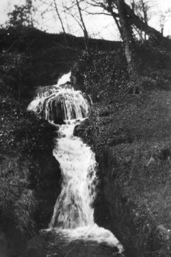 The Waterfall, Catteral Hall, Giggleswick. 1933
