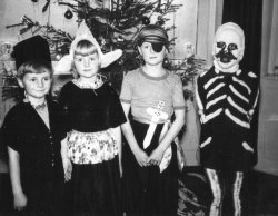 Fancy Dress Party, Christmas 1956