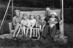 The Holdsworth Family at Scargill, 1956