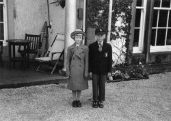 In School Uniforms, at Scargill 1956