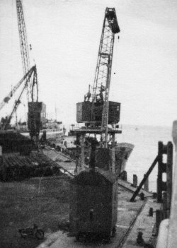 Dockside at Larne, 1958