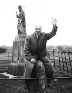 Frank W. Dixon at the Hill of Tara, 1958