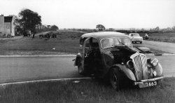 The Bentley Crash, EVH 555. April 29, 1959