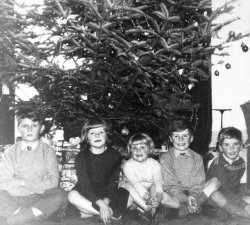 Christmas at Bellinter 1958