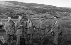 Pheasant Shooting Party on Conistone Moor, 1957