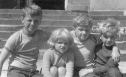 The Holdsworth Children at Bellinter, 1959