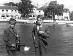 at the Thames, Maidenhead, 1959