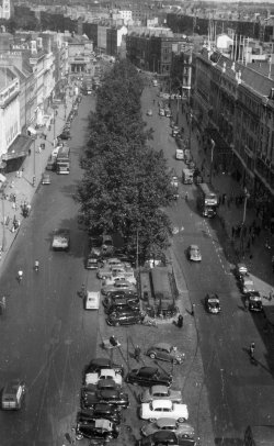 O'Connell Street, Dublin, Taken from Nelson's Pillar 1959