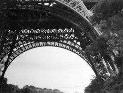 The Eiffel Tower, Paris, France; 1959
