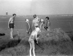 Holiday at Mornington, Co. Meath, Eire, 1959