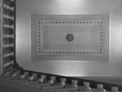 Staircase and ceiling at Bellinter, 1960