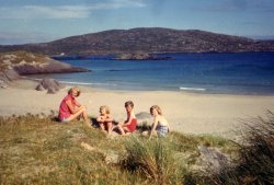 On the Beach at Derrynane, Kerry, Ireland, 1960