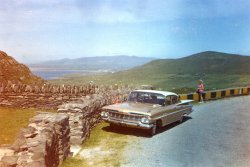 At Koomakista Pass, Kerry, Ireland, 1960