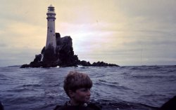 The Fastnet Rock from the 12 ft Dinghy, ca 1962