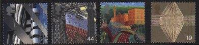 Postage Stamps of Mill Towns 1999
