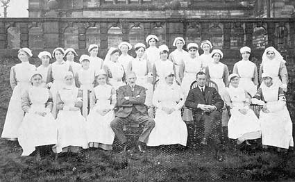 Spring Hall Convalescent and Auxiliary Hospital, Halifax 1916