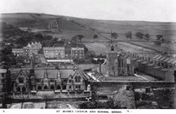 St. Mark's School and Church, Siddal, Halifax